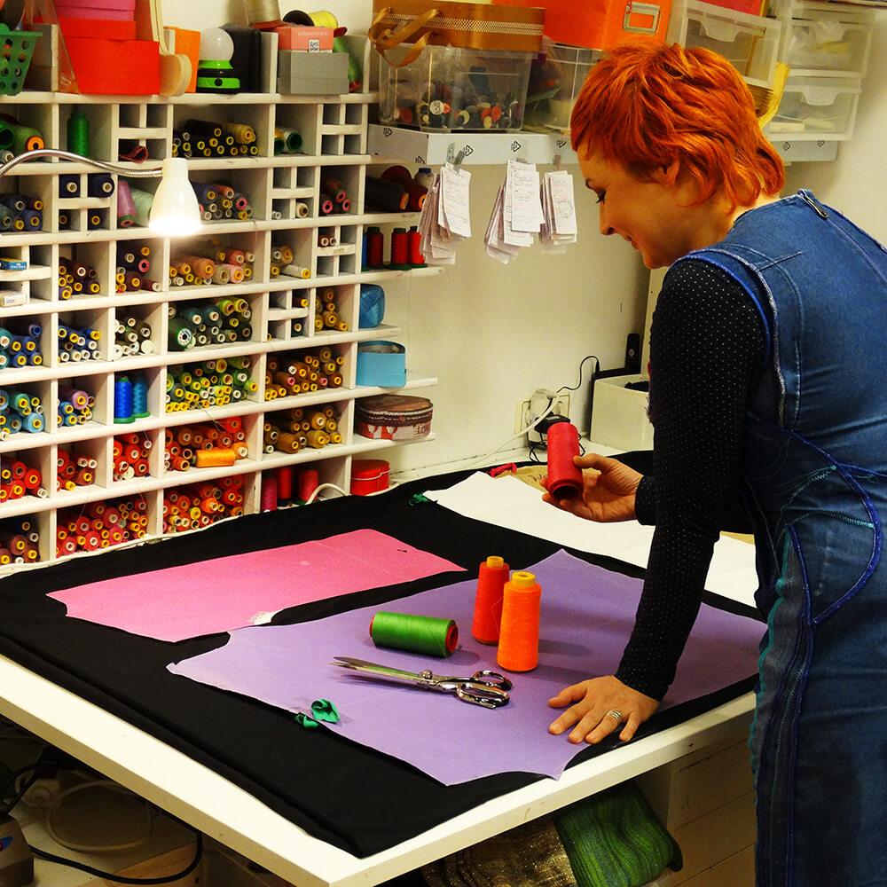 Vsaka nitka je premišljeno dodana pleteninam in tekstilu