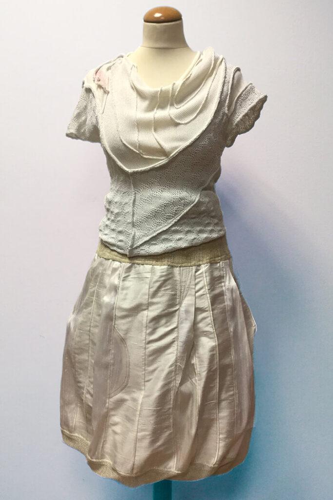 Pletenine so primerne za posebne priložnosti - poročna moda