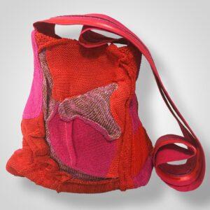 Unikatna pletena torbica