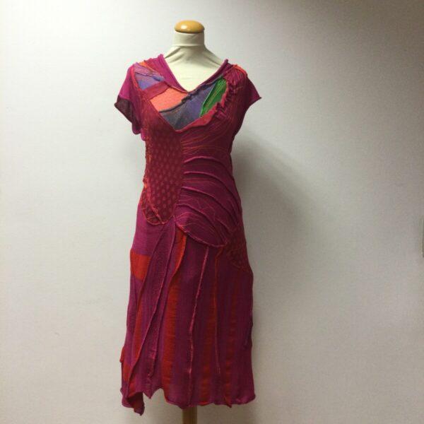 Unikatna pletena obleka