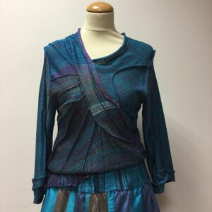 Ženska pletena bluza