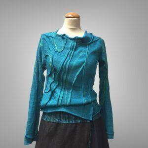 Unikatna pletena bluza
