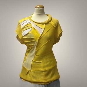 ženska bluza iz viskozne preje