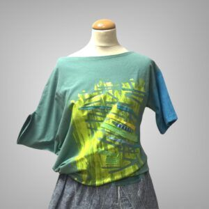 Unikatna bluza Pika Črtica